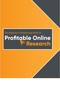 The Beginner's Freelancing Guide to Profitable Online Research